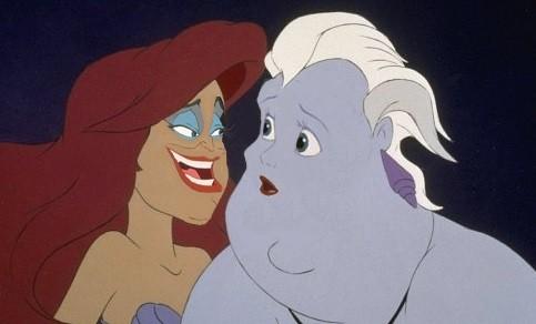 好比说白雪公主,小美人鱼,阿拉丁等等,其中里面漂亮的公主们,像是人鱼