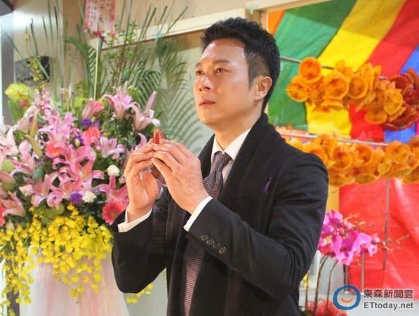 ▼王灿在《风水世家》饰演反派萧永和,为巩固地位不惜杀人.(图/民视)