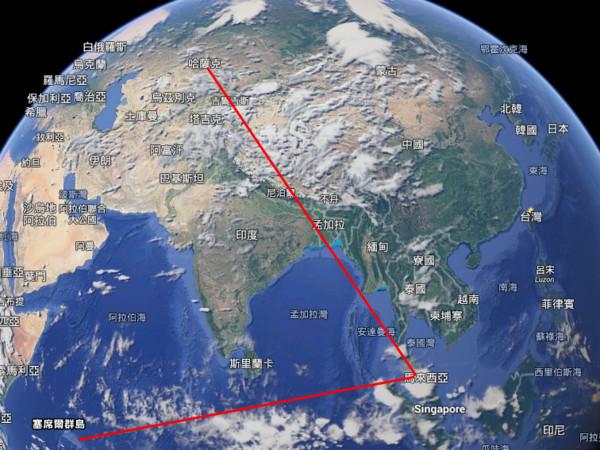 谷歌地图开飞机