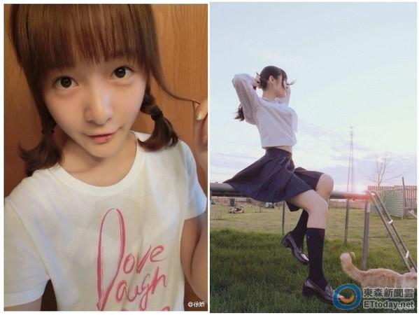 在《长江七号》饰演小男童出道的徐娇,从可爱萌娃变成了「花季少女」