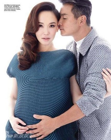有種愛情叫李銘順范文芳!小龍女曬孕肚:最大尺度照片