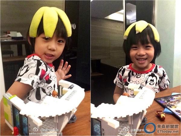 玩起5连拍,祝贺网友中秋节快乐,被许多粉丝称赞是「kimi还是一样可爱!
