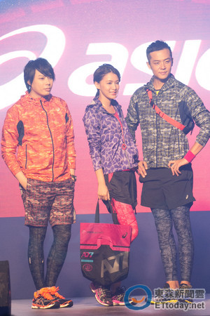 姚元浩王思平戏中不成对 戏外同台秀夜跑时尚图片