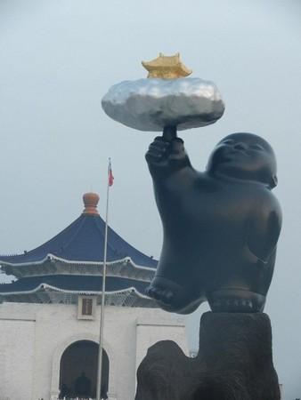 李真台湾大型雕塑首展