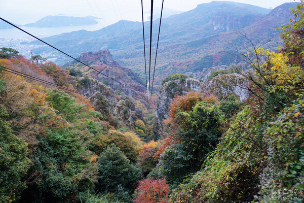 地点 : 四国岛濑户内海上的小豆岛   交通 : 不方便!