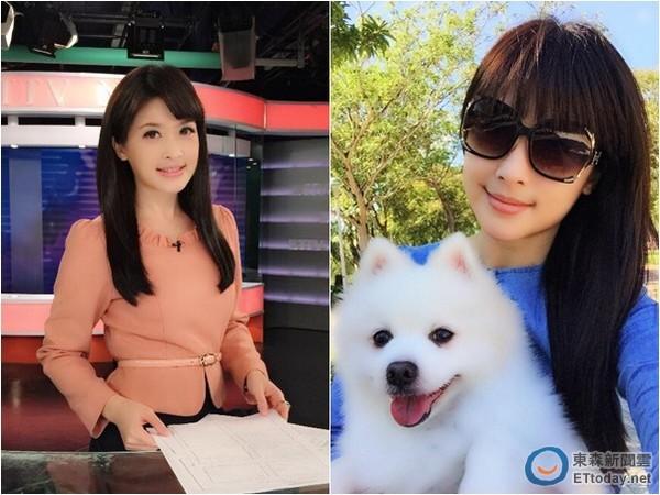 ▼美女主播陈海茵常在脸书分享工作和生活点滴