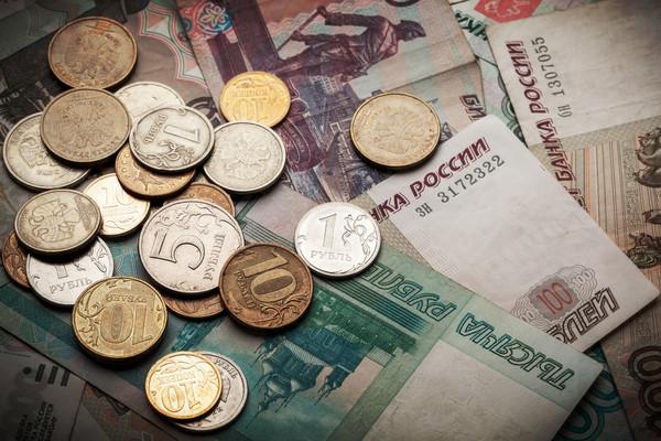 鈔票,金錢,盧布,俄羅斯。(圖/達志/示意圖)
