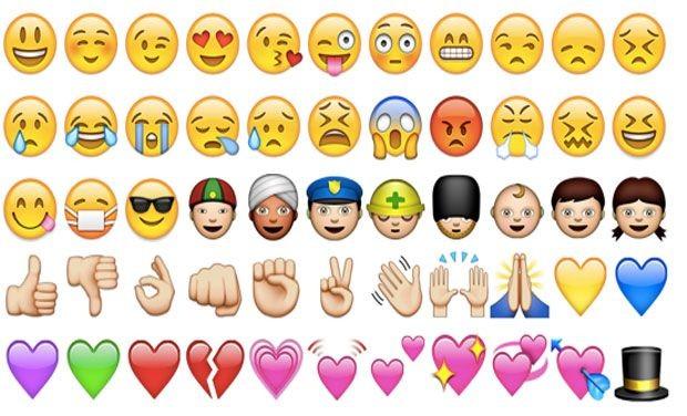 据了解,「♥」这种表情符号源自日本,日语称为「绘文字」(emoj图片