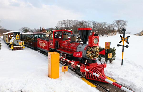 济州岛於2010年底启用「ecoland欧洲森林英式小火车