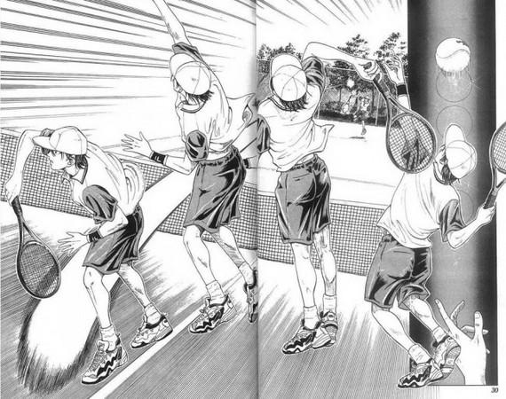 「超展开的作品」第一个名额小编肯定要留给《网球王子》系列&hellip