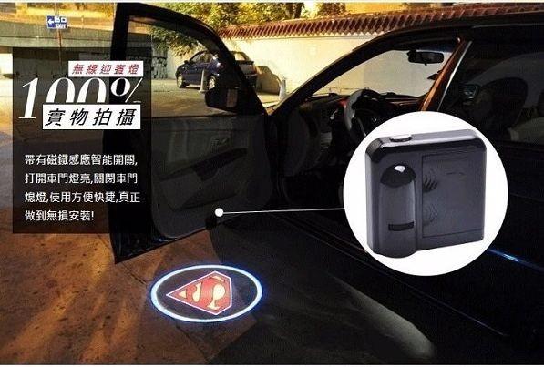 即便不是开超跑,打开车门想让地上冒出引人注目的logo.