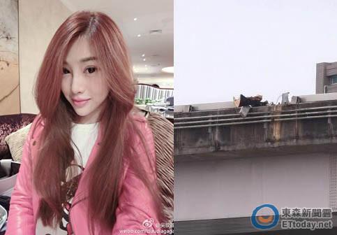 吴玟萱住离飞机失事地点仅差一座桥.