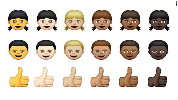 科技中心/综合报导 智慧型手机几乎人手一支,表情符号(emoji)宛如图片