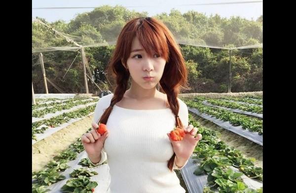 正妹,草莓,施菲亞,外拍甜心,巨乳,VC15