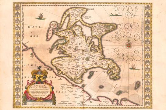 古地图中的布扬岛.(图/取自网路)