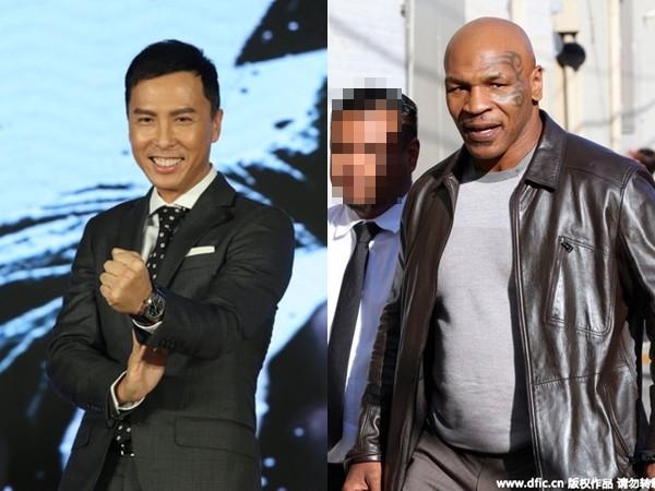 《叶问3》开拍 甄子丹pk拳王泰森:多帮我买点保险!图片