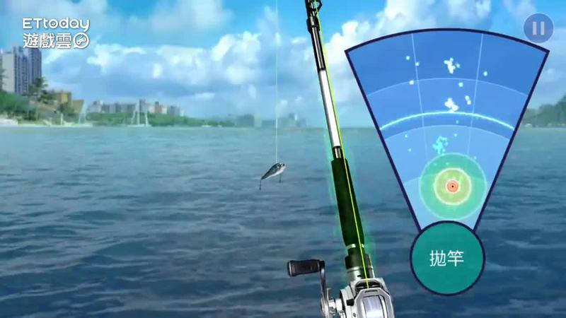 Netmarble釣魚新作《釣魚大亨》試玩畫面