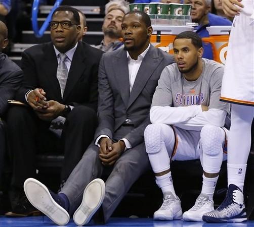 NBA/雷霆悲劇了! 杜蘭特3度動刀確定報銷