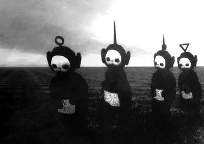 天線寶寶黑白版MV,歌曲結局也太灰暗