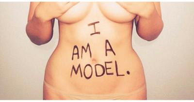 她這身材被稱為大size女模,妳同意嗎