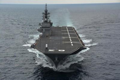 日本擬取消出雲號停靠南韓釜山