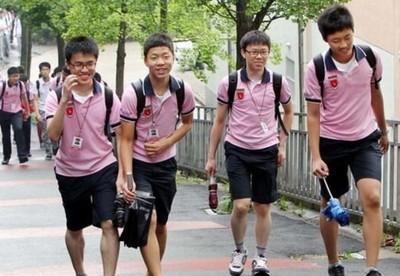 韓國最醜校服TOP7,穿出門需要點勇氣
