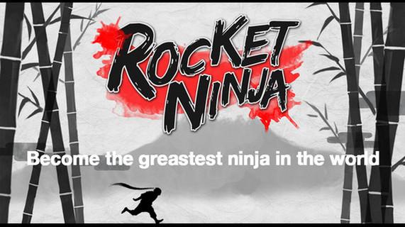 動作新遊《Rocket Ninja》 飛簷走壁無所不能