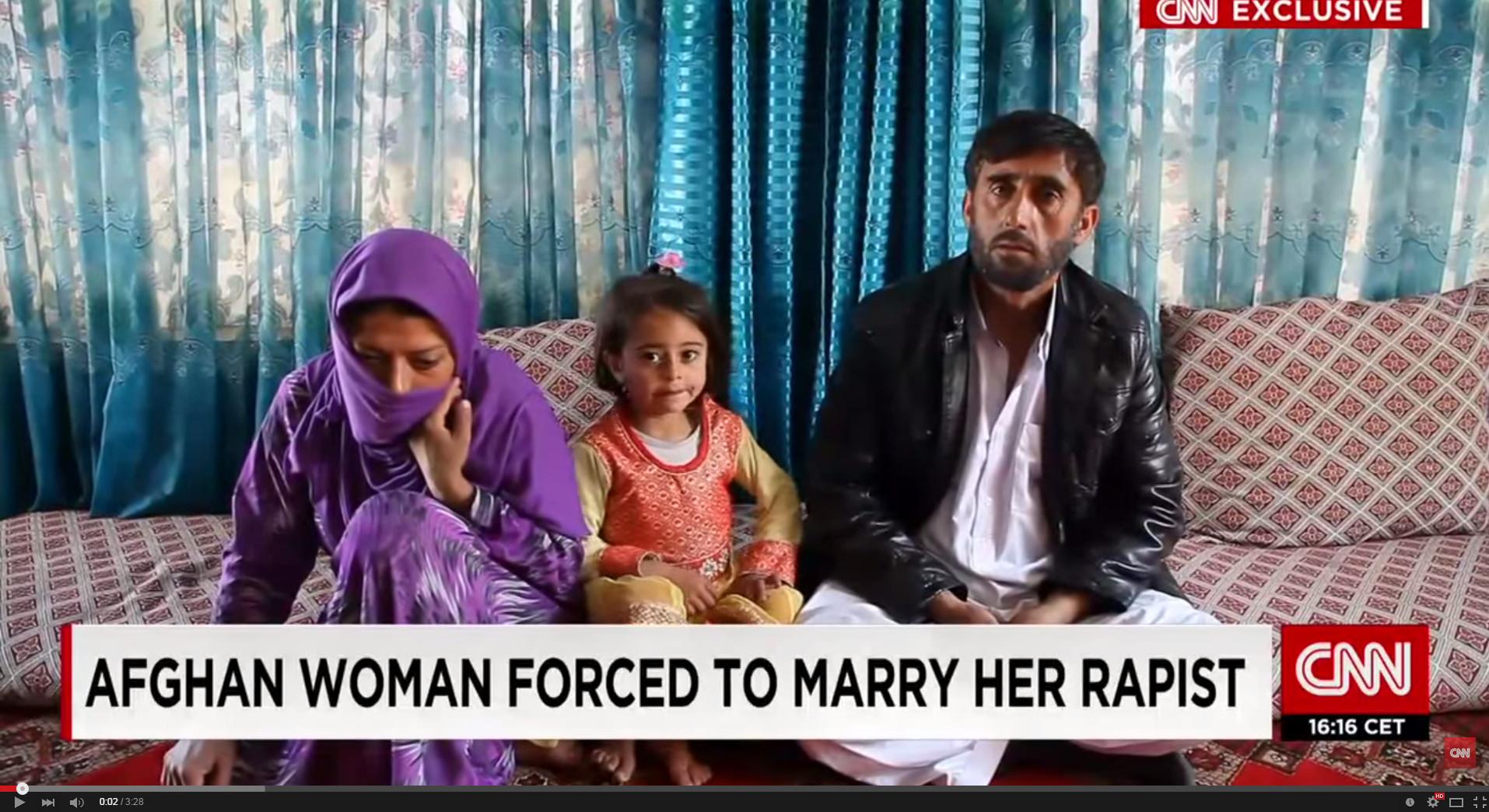 嫁給強姦者「換女兒未來」 阿富汗少女懼怕社會壓力