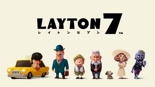 《Layton 7》天黑了...請吸血鬼出來抓人了