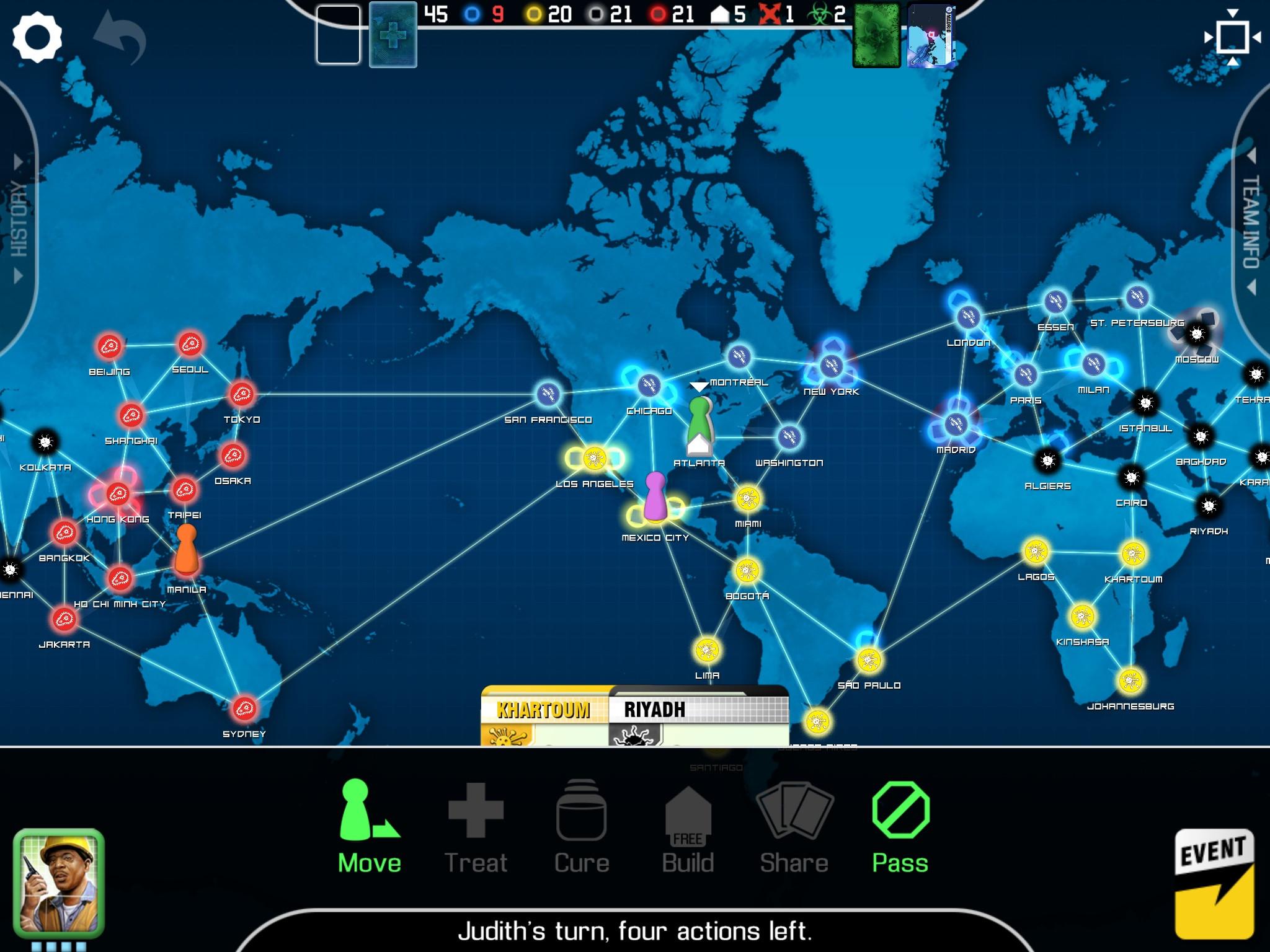 桌遊大作《Pandemic: The Board Game》登陸