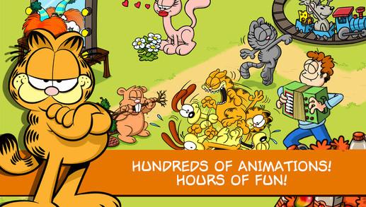 吃貨手遊《Garfield: Survival of the Fattest》上架