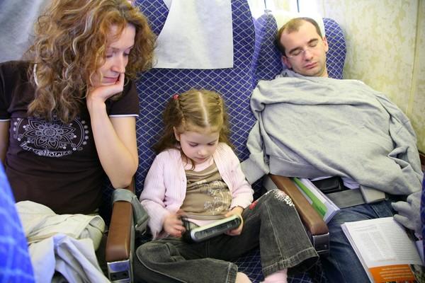 帶小孩旅行(圖/達志影像)