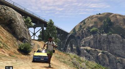 GTA5冒險日常,搭小黃遇到龜速奧客?