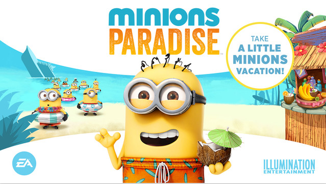 小黃人的海邊度假聖地 《Minions Paradise》上架