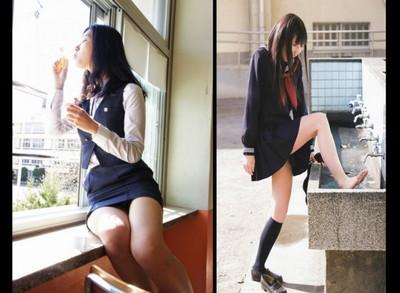 日韓女高制服PK,你愛窄裙還是水手服