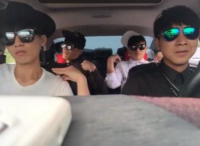 駕駛要關窗說搖起來 3男大跳EXID