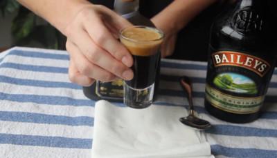 其實不是啤酒,濃度超高..健力士奶酒