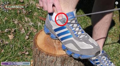 鞋子最上面的洞能幹嘛?原來還有這撇歩