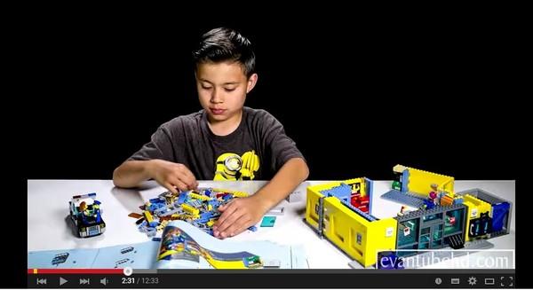 9歲男孩拍專業玩具「開箱」影片 年收入近4千萬