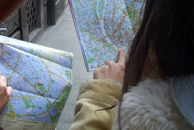 圖解看懂地圖差異,原來路癡世界只有直線