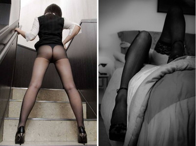 絲襪怎穿才性感?腿型不美也大丈夫唷