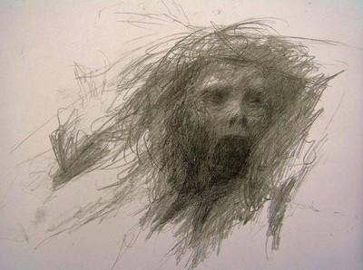 精神病患的自殺前手繪,究竟甚麼恐懼著他?