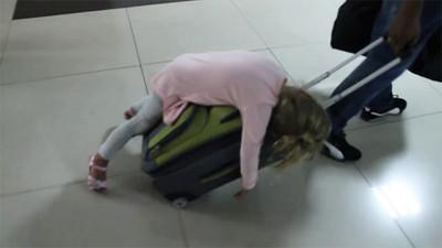機場怕走失?沒關係!使用遛小孩技能