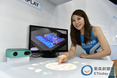 工研院發表3D掃描、投影互動創新技術