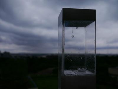天氣預報盒!外面打雷下雨→盒子跟著滴雨囉