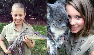 繼承熱愛動物的瘋狂,鱷魚先生女兒長大囉