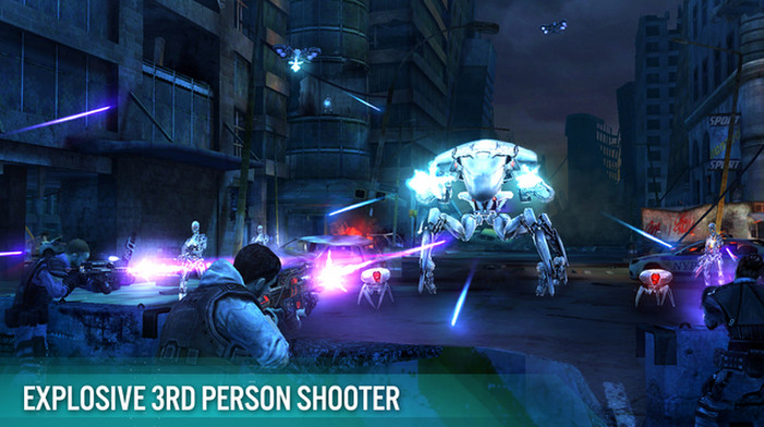 《Terminator Genisys: Revolution》登陸雙平台