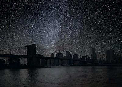 當全世界都停電…繁星將重返城市上空
