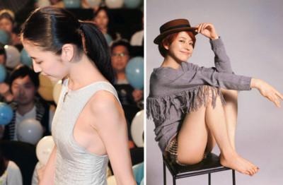 除了美腿,長澤雅美「側乳」也很迷人