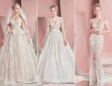 夏季新娘的鏤空婚紗,這樣走紅毯一定超涼